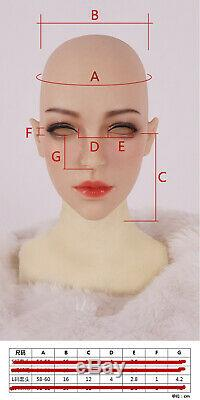 KnowU Makeup Headgear Cross Dressing Crossdresser Gel Hood Transgender Lifelike