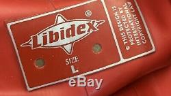 Libidex Latex Scarlet Dress. Large. Red. Fetish/Gummi/Hood