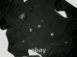 London Fog women's Black trench rain dress Coat size XXL nwt