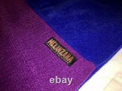 MELANZANA Micro Grid Dress Hood SURF/PHLOX Womens MEDIUM BRAND NEW Without Tags