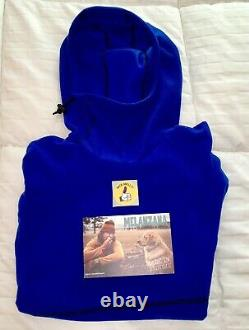 MELANZANA Micro Grid Hoodie SURF Womens LARGE- BRAND NEW Without Tags