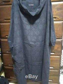 MINT MOYURU Tunic Dress Black Hooded With Pocket Women's Genuine From Japan