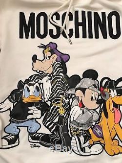 MOSCHINO x H&M WOMEN'S/LADIES SIZE XS HOODED DISNEY DRESS/LONG TOP UNISEX MEN'S
