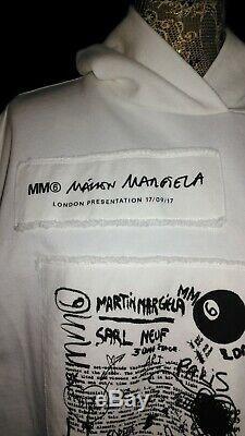 Maison Margiela (mm6) Ladies Hooded Sweater Dress Size Small