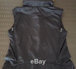 Marithé + Francois Girbaud Dress / Vest with Hood Size IT 42 US 6 New Black Orange