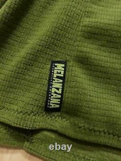 Melanzana Micro Grid Hooded Dress Hoodie XL Womens Turf