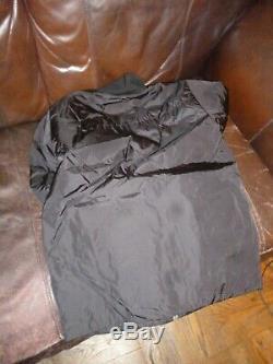 Mens Black PRADA dress/casual raincoat jacket Size M. Cool to wear