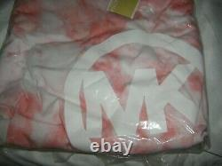 Michael Kors Pink Tie Dyed Hooded Dress Women's Plus Size 2X NEW IN PACKAGE