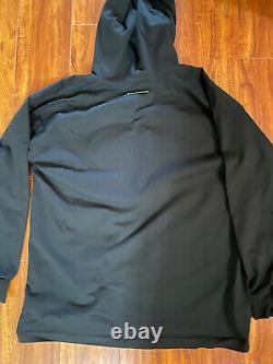 Mm6 maison margiela Logo hooded oversized shirt dress size large Cotton
