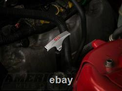 Modern Billet Under Hood Dress Up Kit in Chrome 6 Piece Fit Mustang 2005-2009 GT