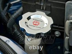Modern Billet Under Hood Dress Up Kit in Chrome Fits Ford Mustang 2011-2014 GT
