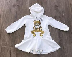 Moschino Girls Teddy Dress AGE 8 Yrs BNWT