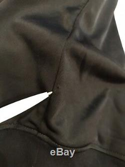 Moschino H&M Black Sparkly Hooded Jersey dress size S