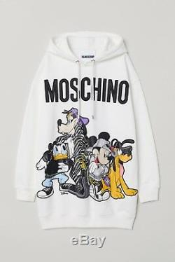 Moschino HM hooded dress size Small
