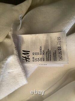 Moschino X H&M Sweat Shirt Dress Xs (Oversized) Nwot