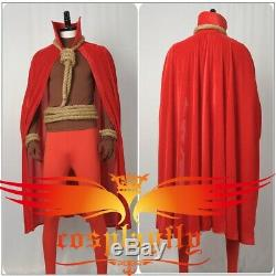 Movie 2019 Watchmen Hooded Justice Cosplay Costume Dress Halloween Size Full Set