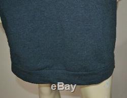 NWT $2,425 Brunello Cucinelli Stretch-cotton hooded sweater dress Medium