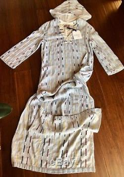 NWT Ace and Jig caftan maxi dress Mesa hooded in Ivy S $390