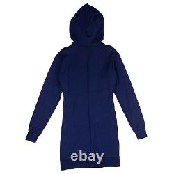 NWT UNRAVEL PROJECT Blue Hooded Dress Size S $665