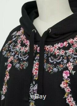 New Giambattista Valli H&m Signature Sweatshirt Hooded Size Small Embroidery