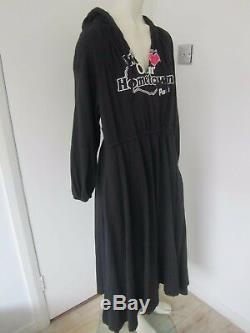New Vetements We Love Our Home Town Layered Dress with Hood RRP £1200