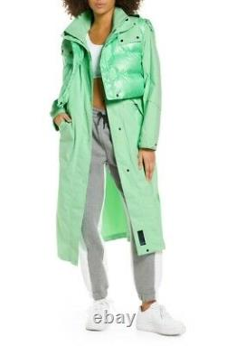 Nike Sportswear City Ready 2in1 Thermore Hooded Jacket Trench Dress Size Xs