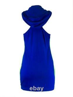 RLX Ralph Lauren Activewear Hooded Racerback Dress Sz M $125 NWOT