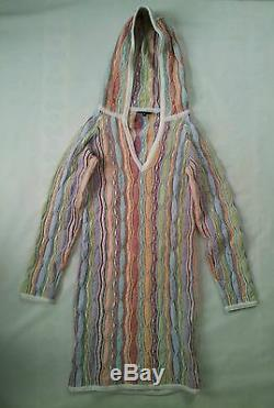 Rare 100% Authentic Made In Australia Coogi Sweater Dress With Hood In Size S
