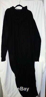 Rick Owens FW16 Sweatshirt dress size M 100% cotton