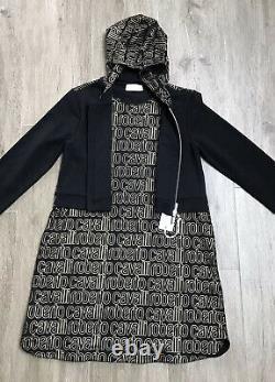 Roberto cavalli girls Hooded Dress Age 12 Yrs BNWT RRP £254
