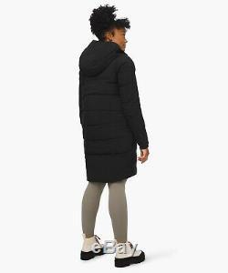 SOLD OUT Lululemon Slush Hour Parka Size 4 Black Waterproof Down Jacket