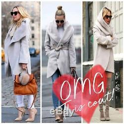 SWAP/SELL NWOT Medium Tahari'Marla' Cutaway Wrap Coat ($220 Orig)