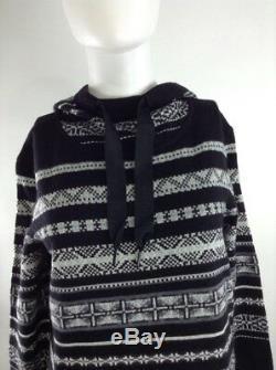Smartwool Women Alpine Lodge Pattern Dress Black Medium 19279-001 MSRP $150.00