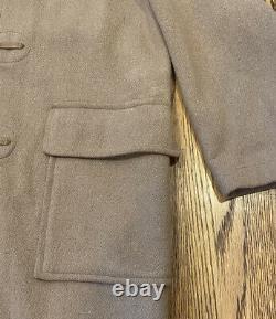 The Original Gloverall Vintage Wool Duffle Coat Toggle Peacoat Jacket England