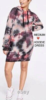 Victorias Secret PINK Pullover Hoodie Dress Oversized RARE Sweatshirt XL/XXL