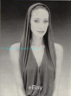 Vintage Azzedine Alaia Visc0se Hooded Backless Fishtail Gown Dress-fr38