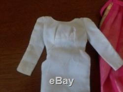 Vintage Barbie FORMAL OCCASION #1697 (1969) Dress and Hooded Cape, Hanger