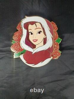 Winter Belle Red Hood Dress Remix Yoyo Limited Edition 65 FANTASY Disney Pin