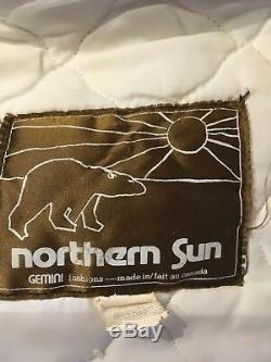 Womans vintage Northern Sun wool Yucon coat Made in Canada