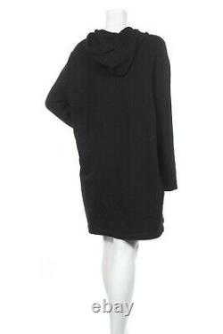 Women's Loewe x Charles Rennie Mackintosh Sweatshirt Dress Black Sz L Rare $600