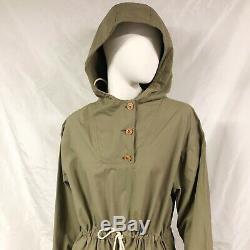 Womens Vintage RALPH LAUREN Blue Label Cotton Hooded Anorak Jacket/DressSize 6