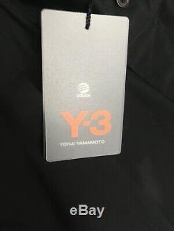 Y-3 yohji yamamoto Womens Poplin Hooded Mini Dress Size XS New WithTags