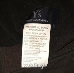 Y's Yohji Yamamoto Women's Hooded Long Pullover Dress Size 3