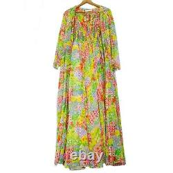 Young Dimensions Daisy Fairy Princess Cottagecore Maxi Dress + Hooded Cape Rare