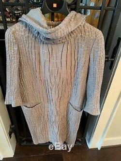 Yves Saint Laurent Dress With Dramatic Hood And Pockets Vintage Fits Medium